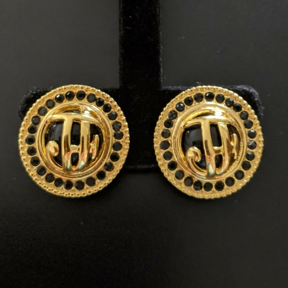 JACQUES FATH, Clip Earrings, signed, Earrings, FRA