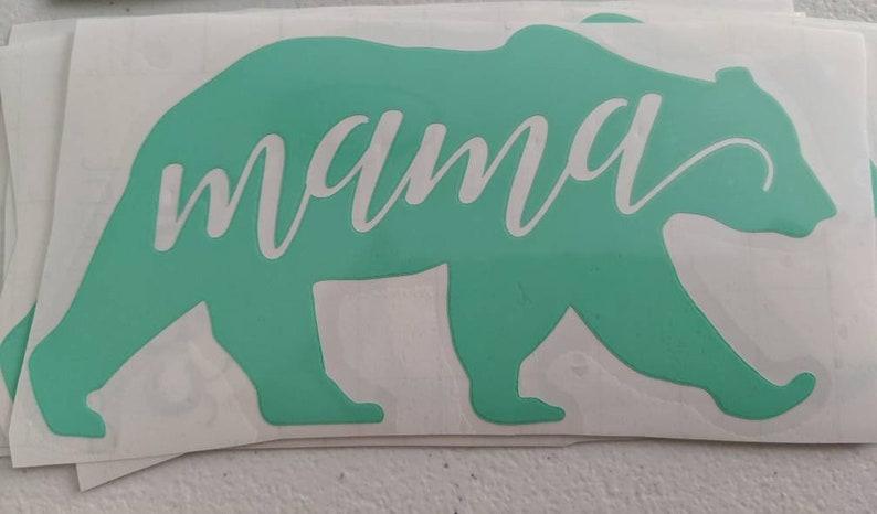 decal car sticker Mama bear decal
