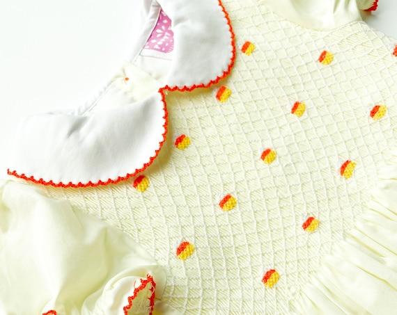 Candy Corn Dress (ready to ship)