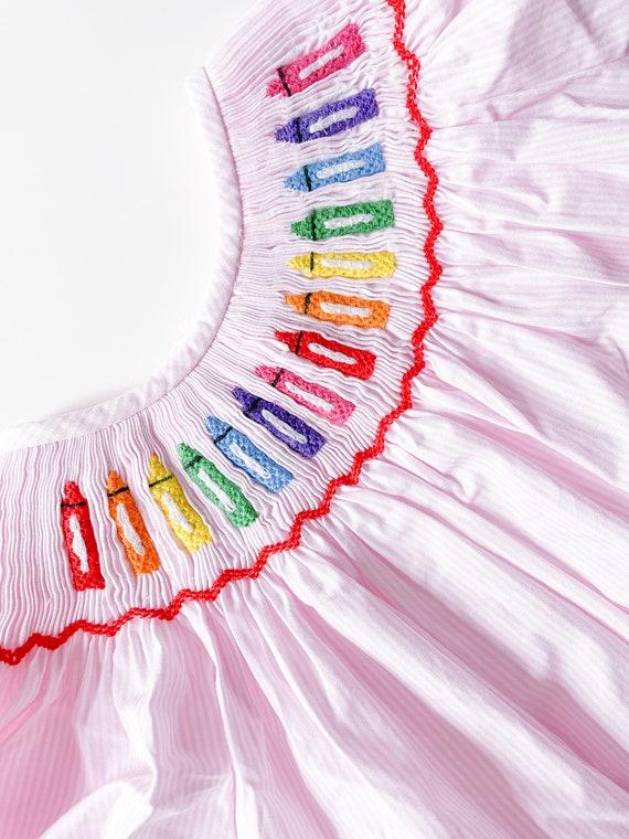 Crayon Dress (Ready to ship)