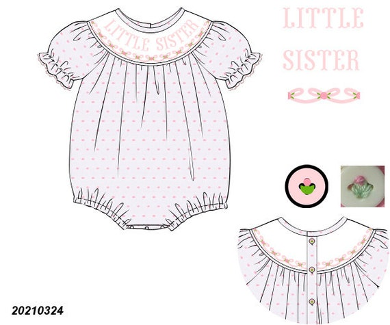 Pink Little Sister Bubble Preorder (SHIPS Late August/ Early September)
