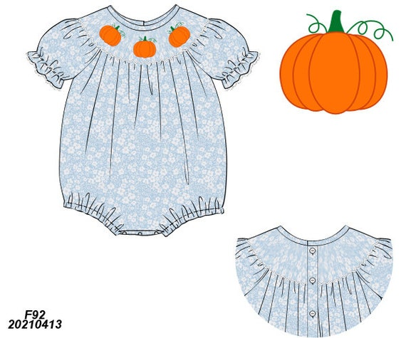 Pretty Pumpkins Bubble PREORDER (SHIPS Late August/ Early September)
