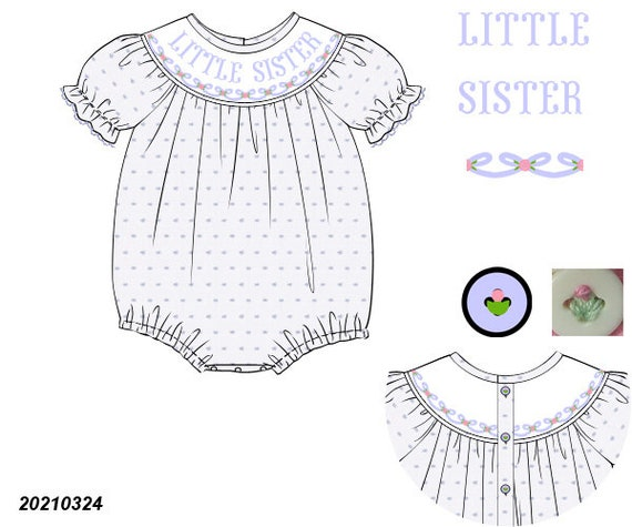 Blue Little Sister Bubble Preorder (SHIPS Late August/ Early September)
