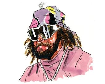 Randy Savage Portrait