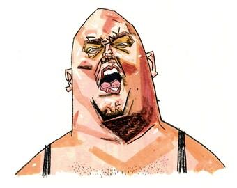 King Kong Bundy Portrait