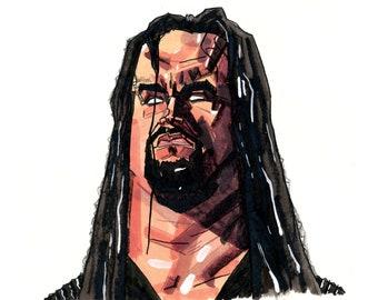 Undertaker Portrait