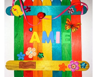 Craft Kit - Fairy Gate Signs for kids to personalise, paint and decorate