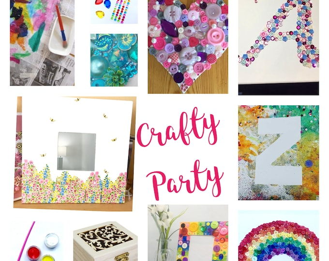 Crafty Party Kits, adult, child or family, discount for multi pack purchase