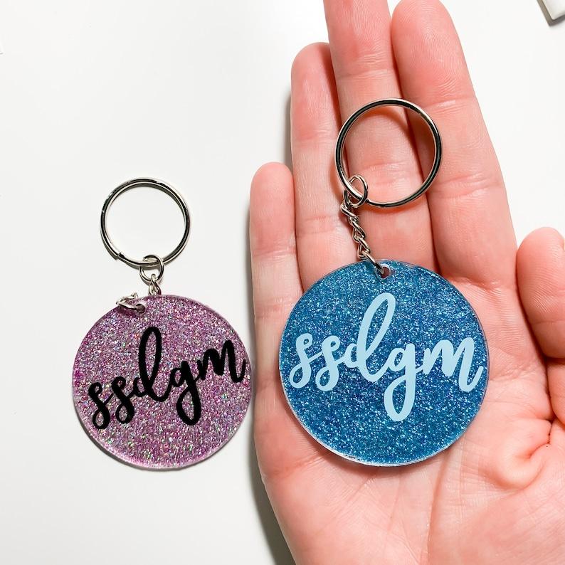 SSDGM Keychain  My Favorite Murder Accessories  MFM KeyChain  SSDGM