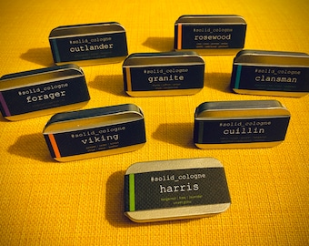 Solid Cologne (2-pack) - Made in Scotland