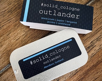 outlander - Solid Cologne - Made in Scotland