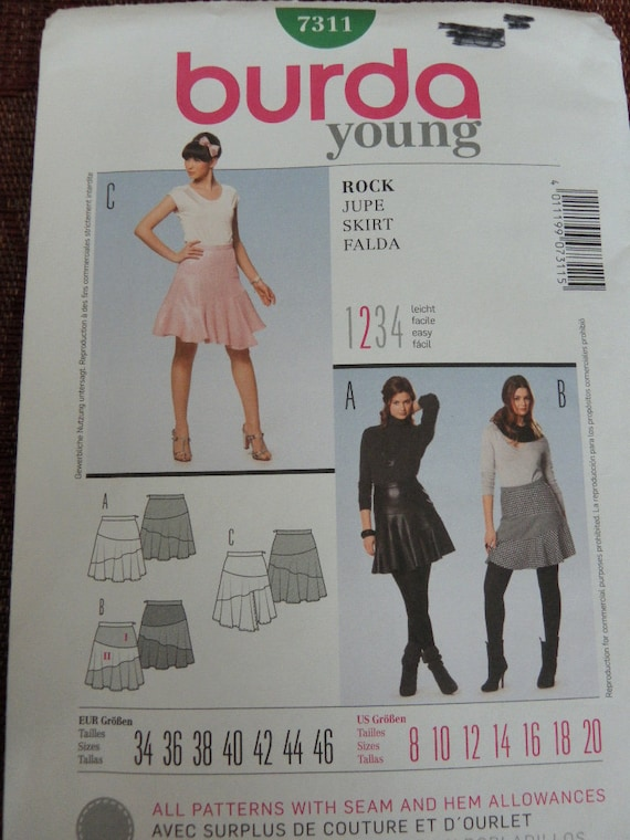 Sewing Patterns Young Fashion