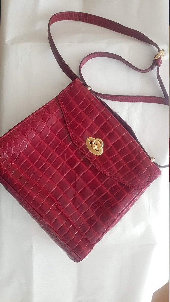 Liz Claiborne leather vintage bag