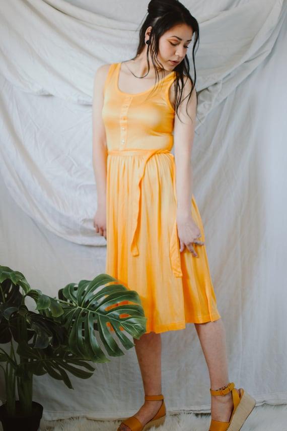 1970s Sun Dress by Junior Scene - Vintage Sun Dres