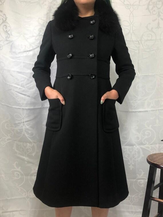 1970s Wool Princess Jacket - ILGWU Label Vintage P