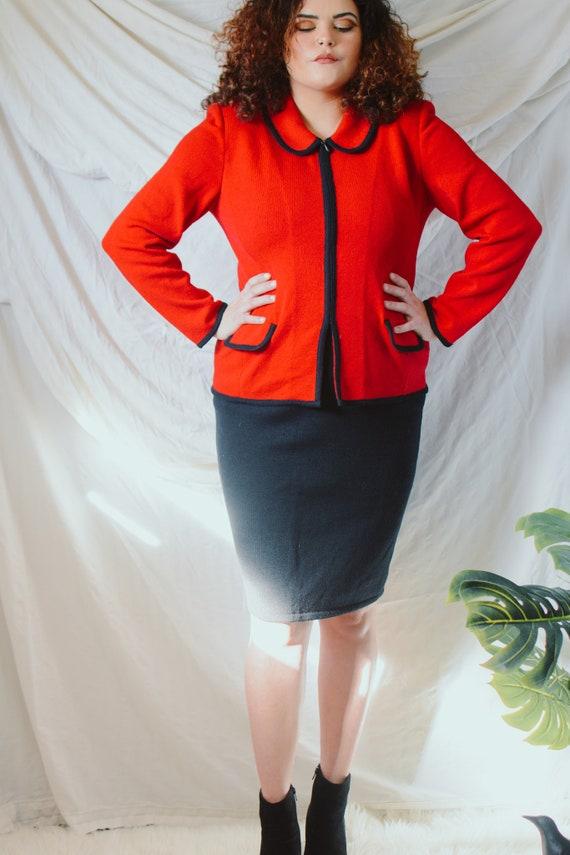 Vintage Austin Reed Suit Jacket Skirt Set Women S Siz Gem