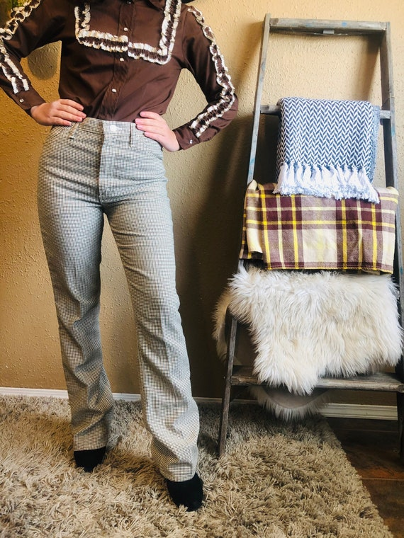 1970's High Rise Wranglers - Vintage Western Trous