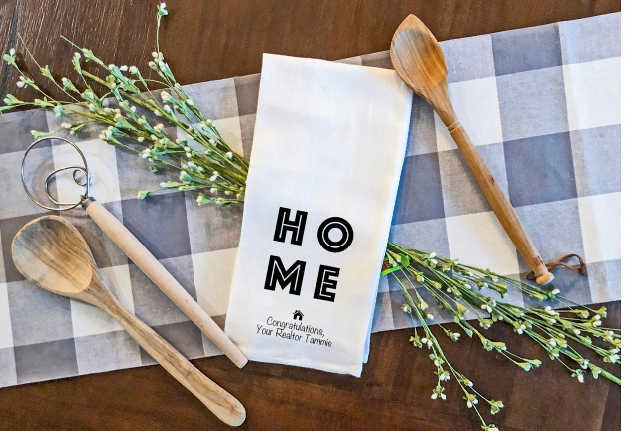 Home for the Holidays drink holder coffee lover Co-Worker Realtor Closing Gift personalized gift #Real Estate life house realtor gift