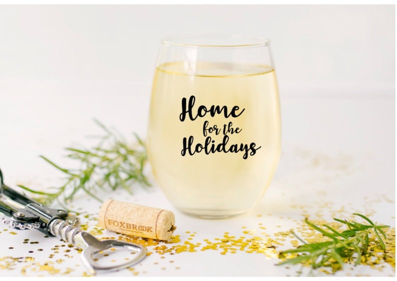 real estate house realtor gift Real Estate Agent personalized wine glass #Real Estate life  Gift for Co-Worker Home for the Holidays