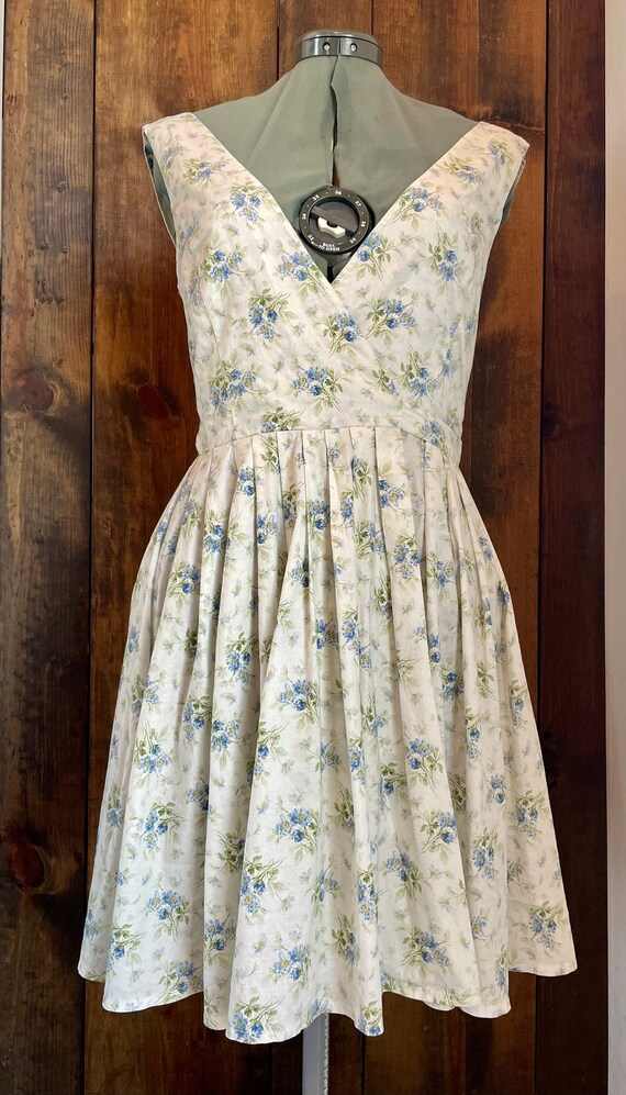 90s Vintage Laura Ashley Dress - image 1