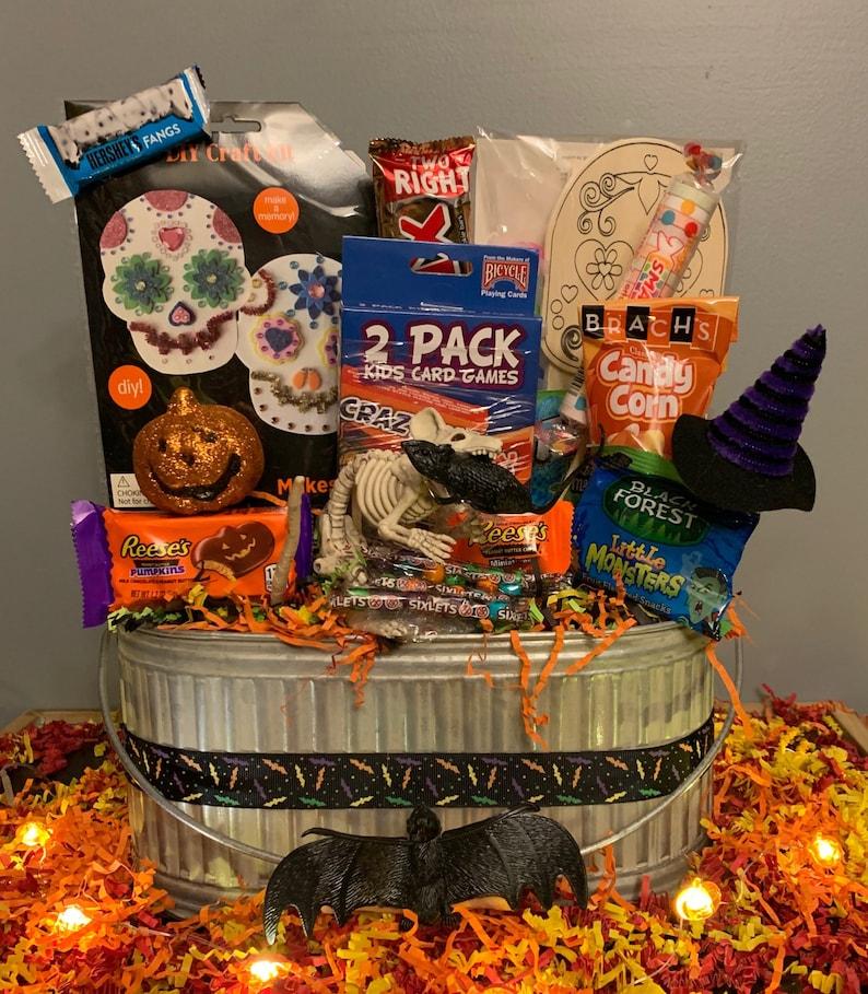Spooky Halloween Boo Basket