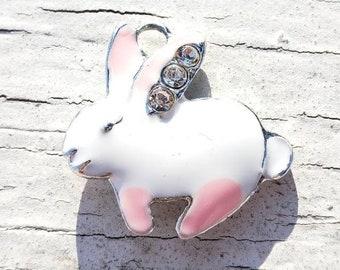 Easter charm,holiday charm 6pcs-rabbit charm,bunny charm,toy charm
