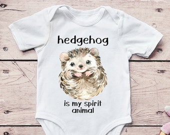 Baby Grow Clothes Novelty Gifts for Baby Girls Woodland Hedgehog