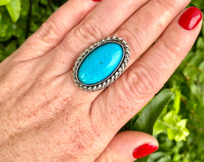 Featured listing image: Turquoise Ring