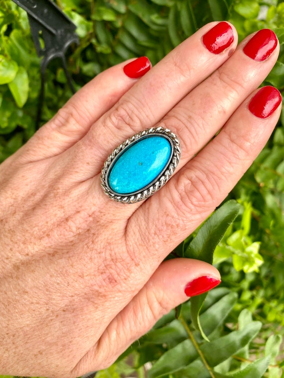Turquoise Ring US 8