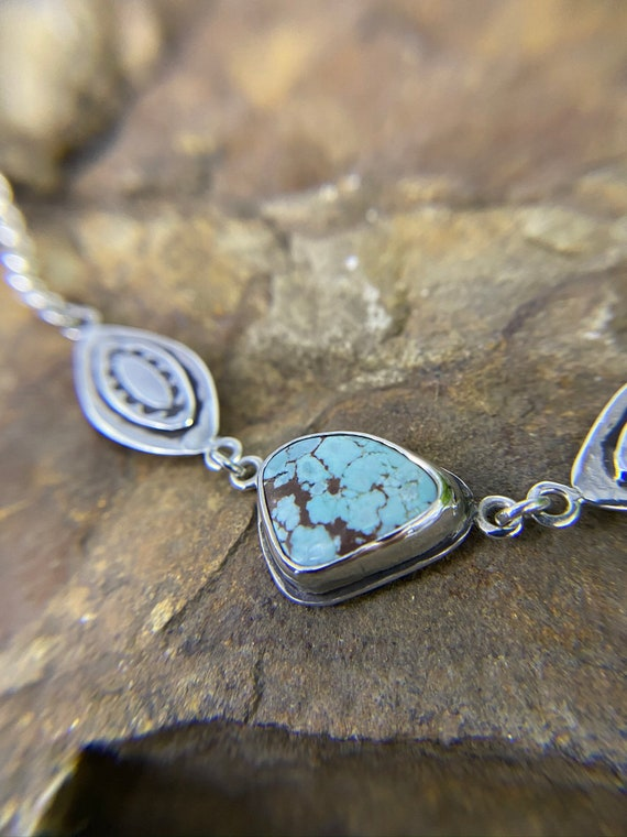 Tribal Turquoise Necklace