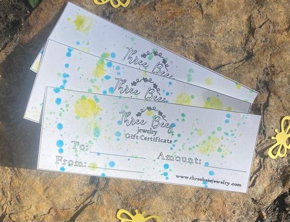threebeesjewelry Giftcard