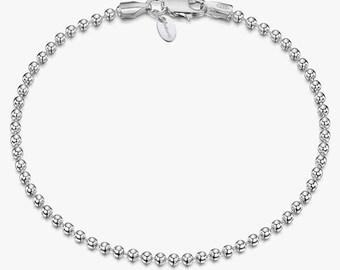 Multistrand Silvered Ball Snake Chain Gift Boxed Vintage Jewellery Vintage Snake Chain Tennis Bracelet Great Cond Elegant /& Versatile
