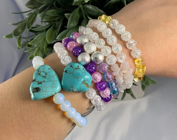 Assorted Healing Adjustable Stone Bracelet