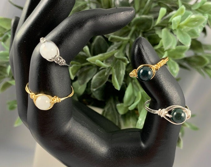 Single Assorted Crystal Ring