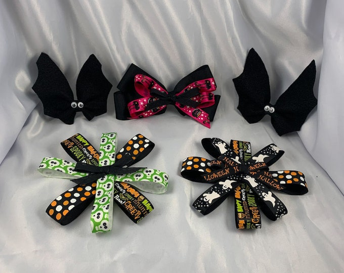 Assorted Halloween Bows