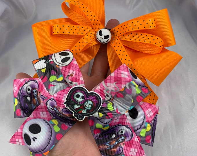 Large Nightmare Before Christmas Bows