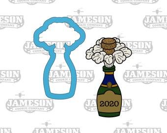 Cork Bottle 266-A431 Cookie Cutter Set