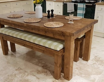 Surprising Rustic Dining Table Etsy Home Remodeling Inspirations Cosmcuboardxyz