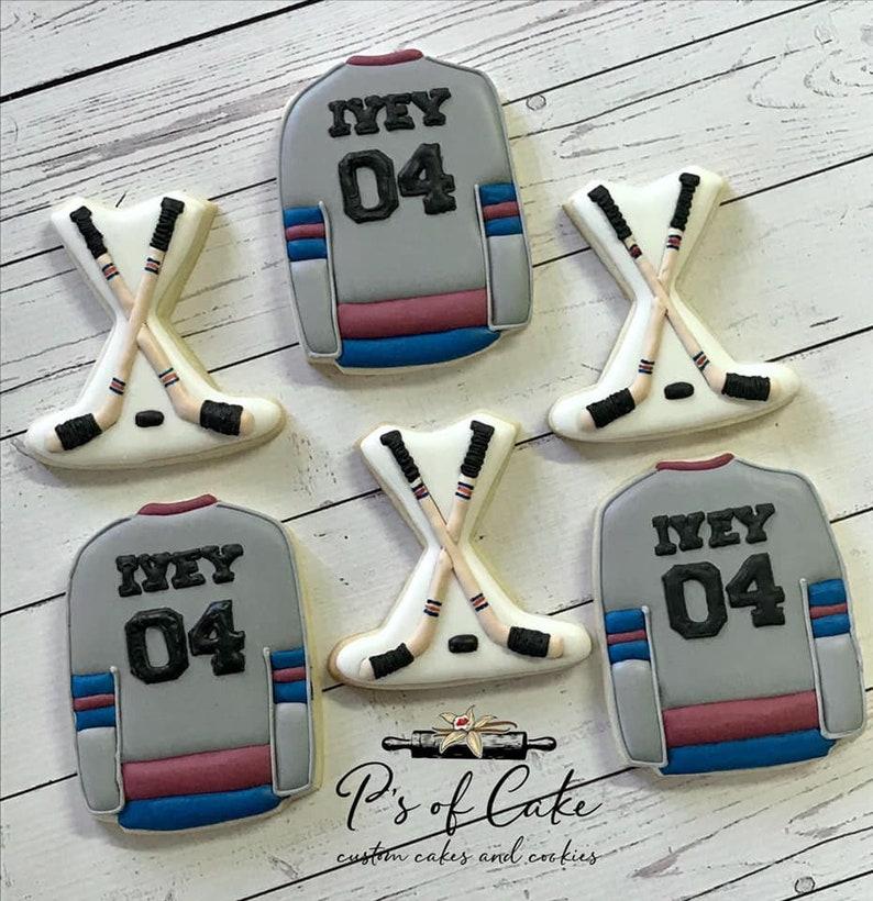 Hockey Theme cutter set