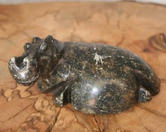 Marble/Stone Hippopotamus