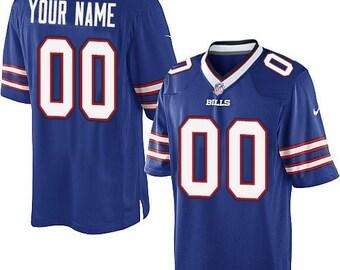 quality design 5d398 9b6cc Buffalo bills jersey | Etsy