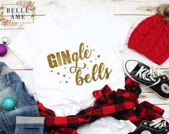 Unisex Bianco Gingle bells Maglione Felpa Gin HENDRICK/'S CHRISTMAS NATALE REGALO