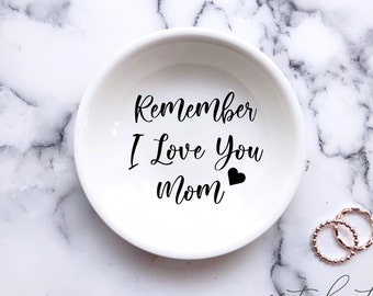 Personalized Ring Dish  Mother of the Bride Gift  Mother of the Groom Gift  Gifts for Mom  Mother/'s Day Gift  Jewelry Dish  Wedding
