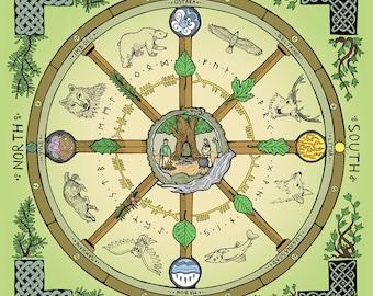 Wheel of the Year, Altar Cloth