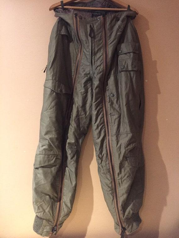 Vintage USAF Coverall Flight Suit Pants / United S