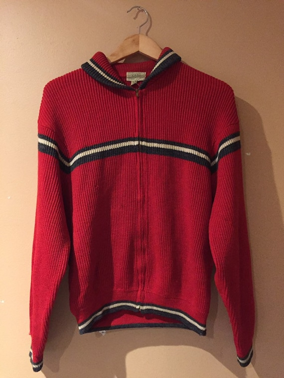 1950s Vintage KASO Cozy Wool Knit Jumper Sweater -