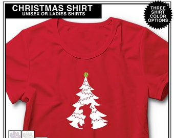 Christmas Dog Shirt, Gift for Dog Lover, Gift for Dog Owner