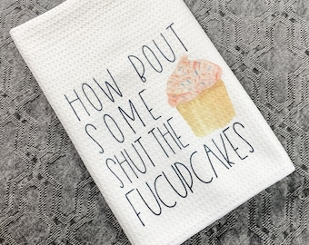 Dirty Humor Kitchen Towels, Inappropriate Kitchen Towels, Dirty humor dish cloths, Inappropriate dish cloths