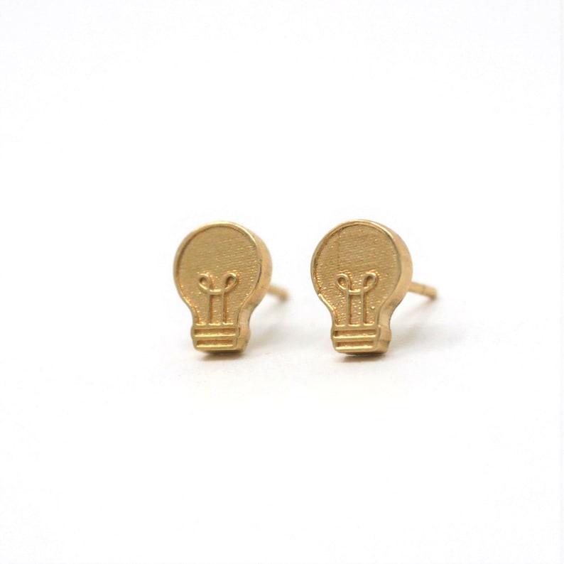 Lightbulb Earrings image 0
