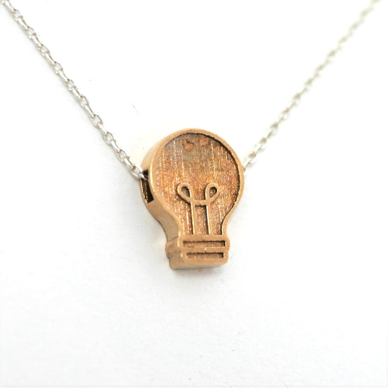 Lightbulb Necklace image 0
